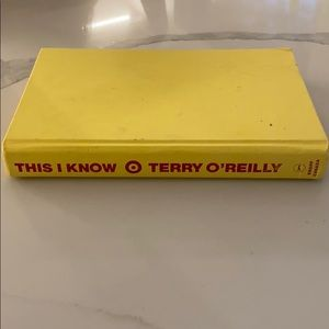 This I know - terry o'reilly